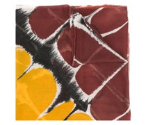 Bluse mit abstraktem Print
