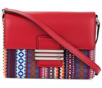 woven crossbody satchel
