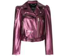 'L-Sunset' Metallic-Lederjacke