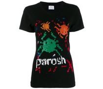 P.A.R.O.S.H. T-Shirt mit Logo-Stickerei
