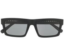 Sonnenbrille mit Kettenverzierung