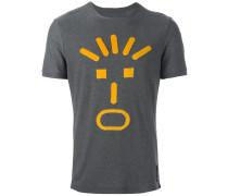 T-Shirt mit Gesichts-Applikation