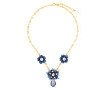 Halskette mit Blütenverzierung