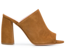 Anna F. block heel mules
