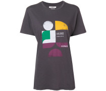 'Tewel' T-Shirt mit Logo-Print