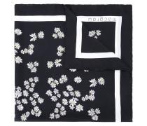 Seidenhalstuch mit Blüten-Print