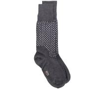 Socken mit Verzierung