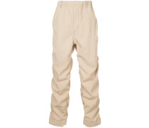 ruched leg chinos
