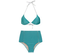 Bikini mit Metallic-Details