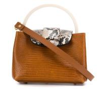Mini-Tasche mit Prägung