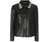 Sara embellished collar jacket