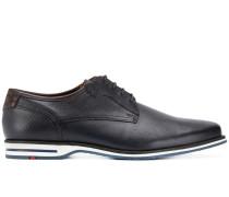 Derby-Schuhe mit texturierten Details