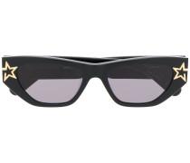 rectangle-frame star sunglasses