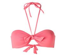 Neckholder-Bikini mit Knoten