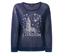 London embroidered sweater