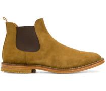 Stiefel mit elastischem Einsatz
