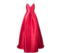 sweetheart flared maxi dress