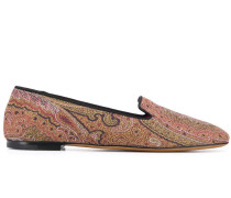 Loafer mit Paisleymuster