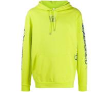 long sleeve logo hoodie