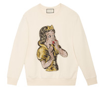 Sequin Snow White sweatshirt