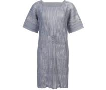 subtle pleat shift dress