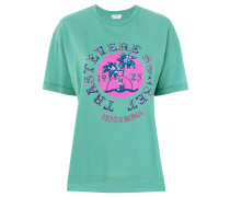 Bedrucktes T-Shirt mit Applikation