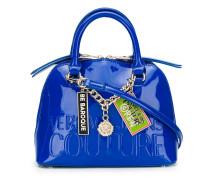 Lackleder-Handtasche