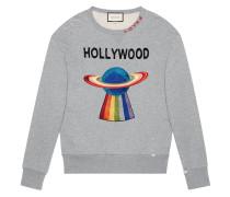 Sweatshirt mit Planeten-Motiv