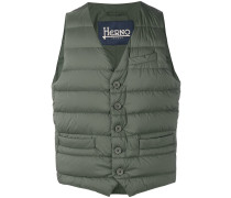 padded fitted gilet