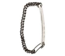 engraved tag bracelet