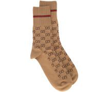 GG-Socken mit Webstreifen