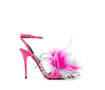 Sandalen mit Glitter, 120mm