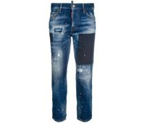 Cropped-Jeans mit Boyfriend-Schnitt