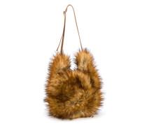 Shopper aus Faux Fur