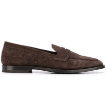 Loafer mit Paisley-Print
