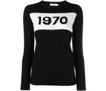 """Wollpullover mit """"1970""""-Schriftzug"""