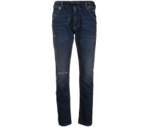 'Krailey R' Boyfriend-Jeans mit Kordelzug