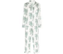 'Howie' Pyjama mit Ananas-Print
