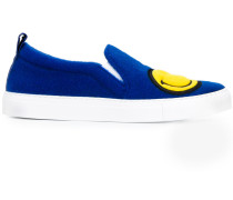 'Smiley' Slip-On-Sneakers