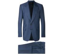 Anzug mit steigendem Revers