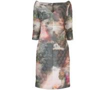 paradise print Tulip quilted dress