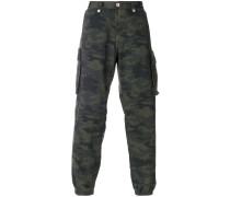 Military-Hose mit Camouflage-Print