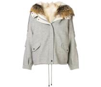 detachable collar jacket