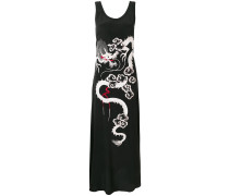 P.A.R.O.S.H. embroidered flared dress
