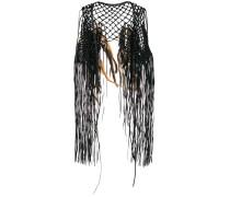 Coyopa embellished knitted vest