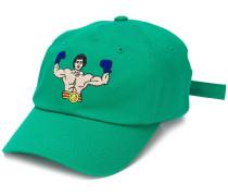 Baseballkappe mit aufgesticktem Boxer