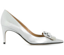 logo pointed pumps
