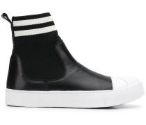 High-Top-Sneakers mit Stretcheinsätzen