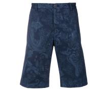 Chino-Shorts mit Paisleymuster