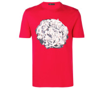 T-Shirt mit Medusa-Motiv